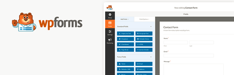 Drag & Drop WordPress Form Builder