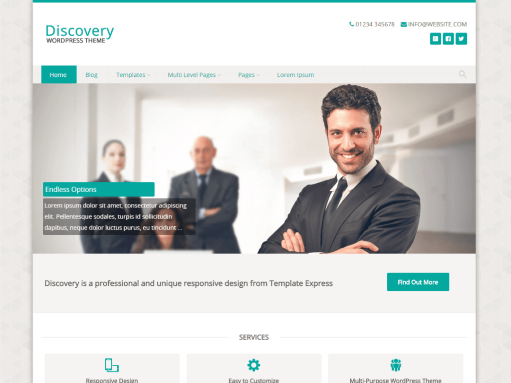 Discovery WordPress