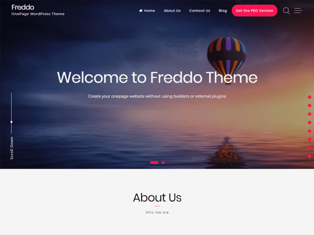 Freddo WordPress Theme