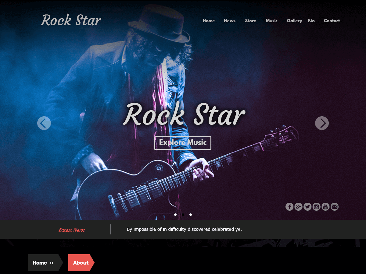 rockstar wordpress theme