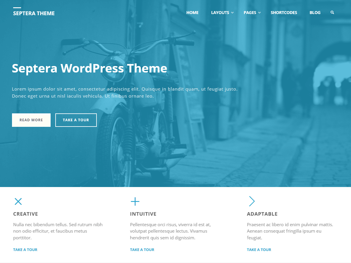 septera Best Free WordPress Themes